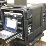 Radio in a box (Riab) configuration and accessories when operating the equipment